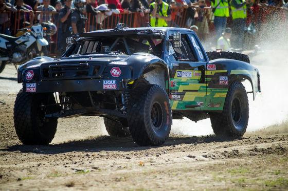 Wüsten-Rallye