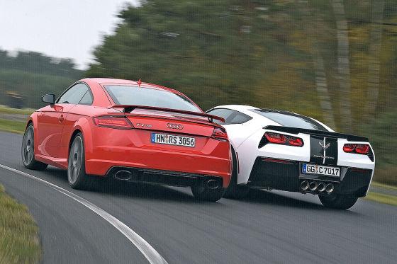 Audi TT RS Chevrolet Corvette Stingray