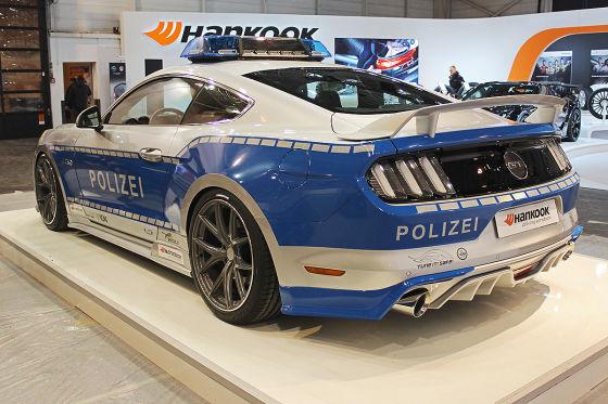 Polizei-Pferd mit 455 PS
