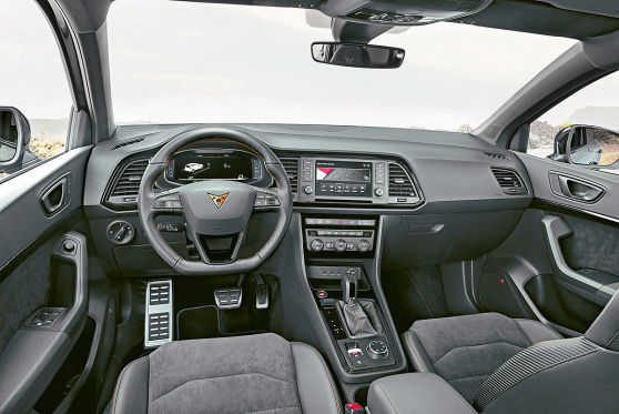 cupra ateca von seat 2018 test preis bilder motor. Black Bedroom Furniture Sets. Home Design Ideas