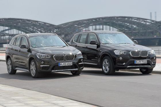 BMW X1 BMW X3