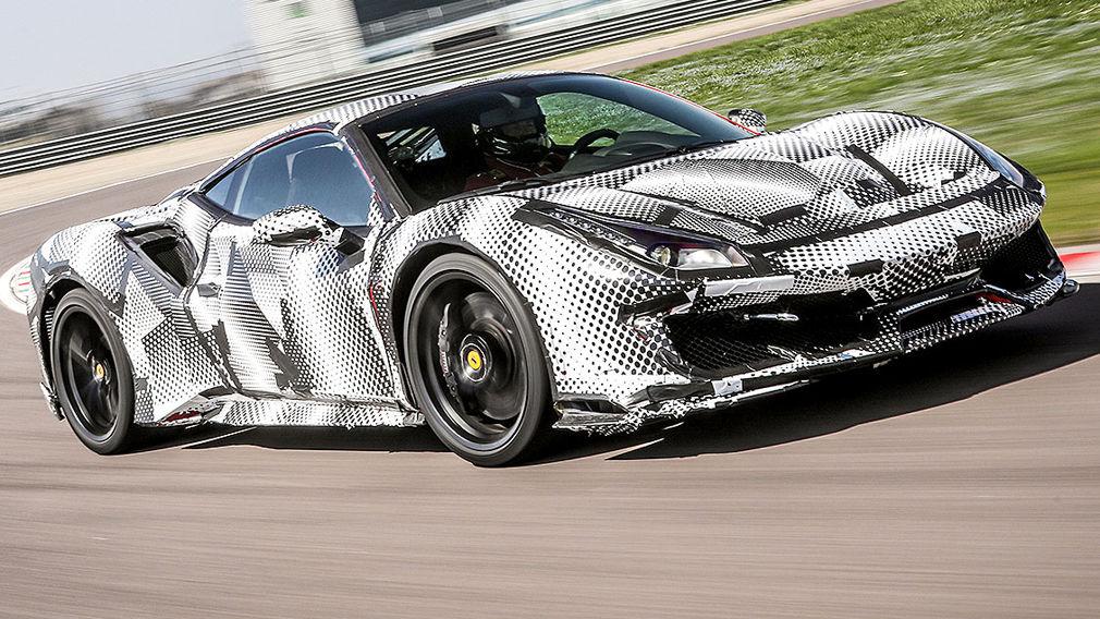 Ferrari 488 Pista 2018 Test Motor Preis Technische Daten Autobild De