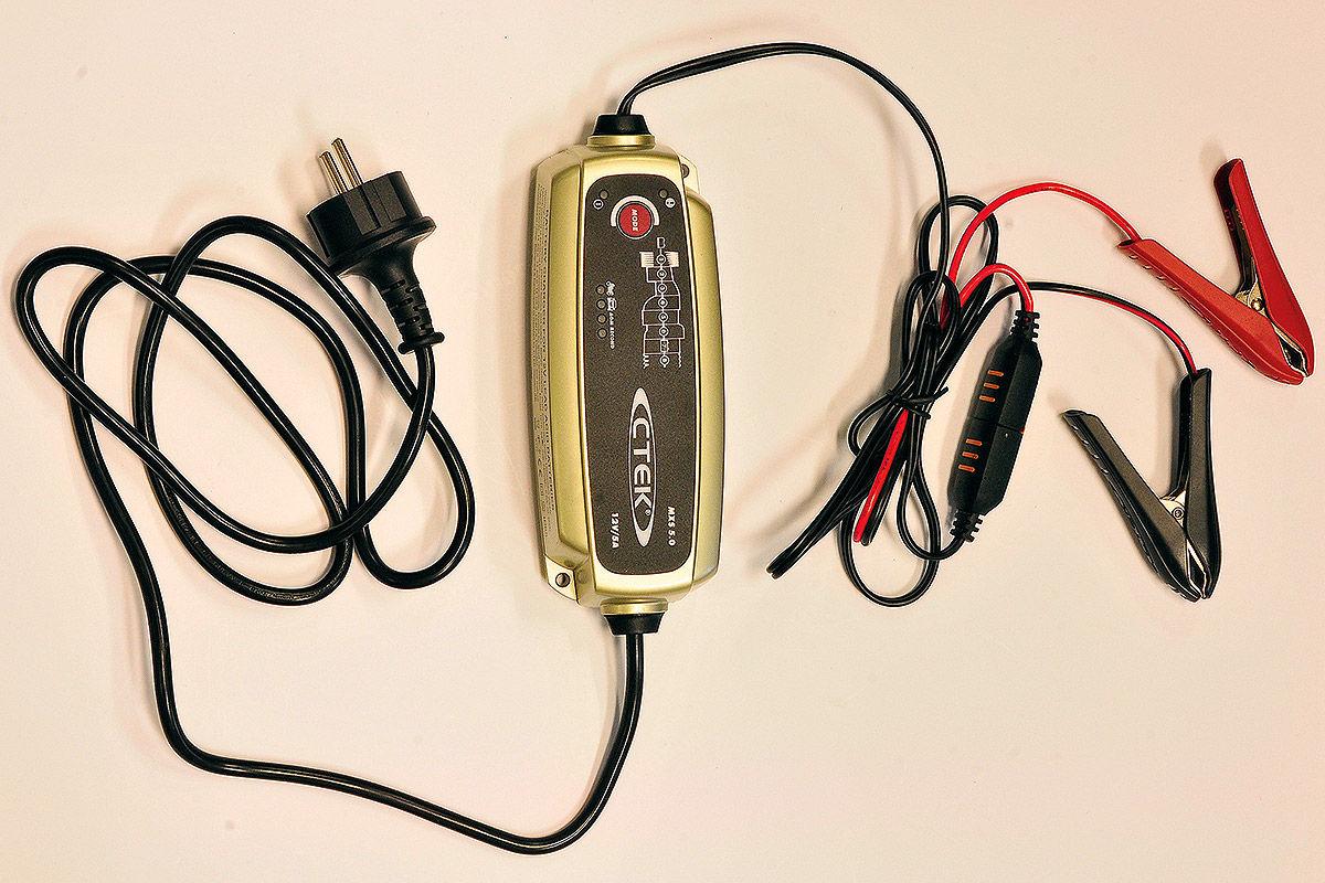 Batterie-Ladegerät: CTEK MXS 5.0