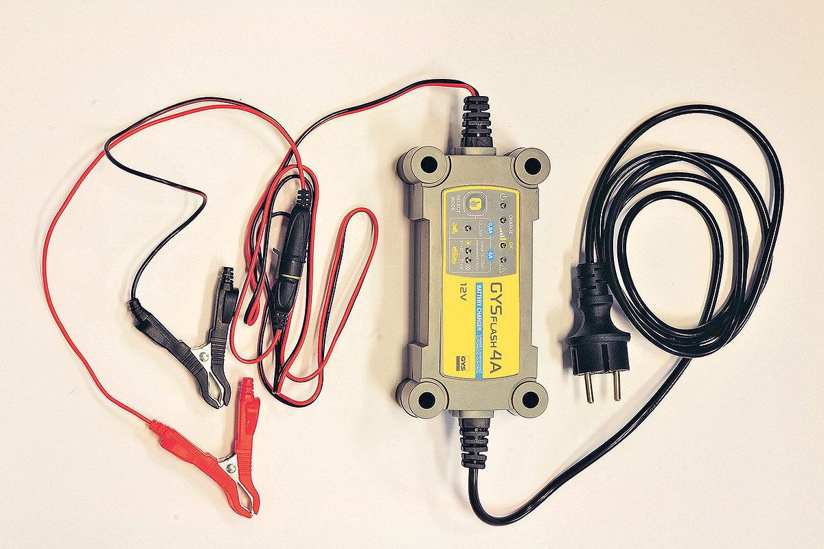 Batterie-Ladegerät: Gysflash 4A