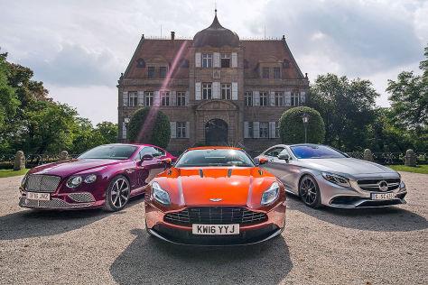 Schnelles Luxuscoupé Der Neue Aston Martin Db11 Im Vergleich Autobild De