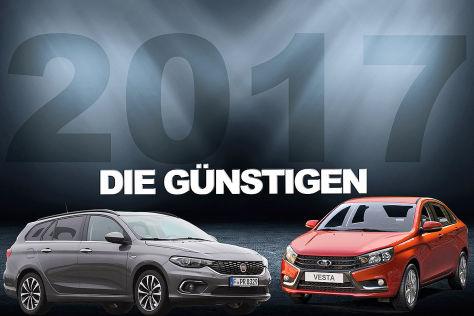Die günstigsten Neuwagen Deutschlands