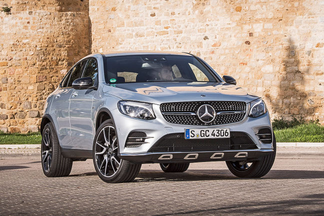 Video Mercedes Amg Glc 43 Coup 233 2016 Autobild De