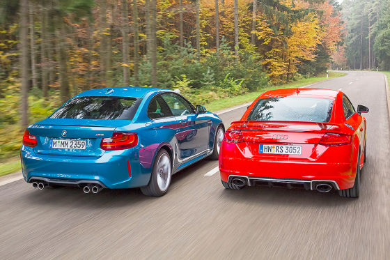Audi TT RS BMW M2