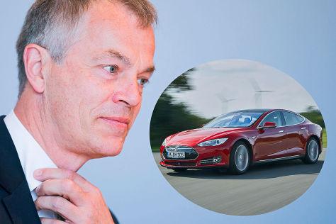 Tesla Model S für NRW-Minister