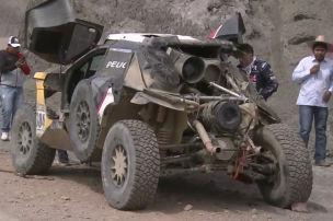 Rallye Dakar: Sainz crasht raus