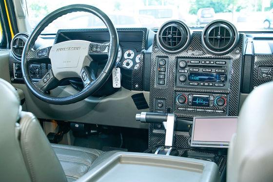 Amerikanische Legende Unterwegs Im Hummer H2 Autobildde