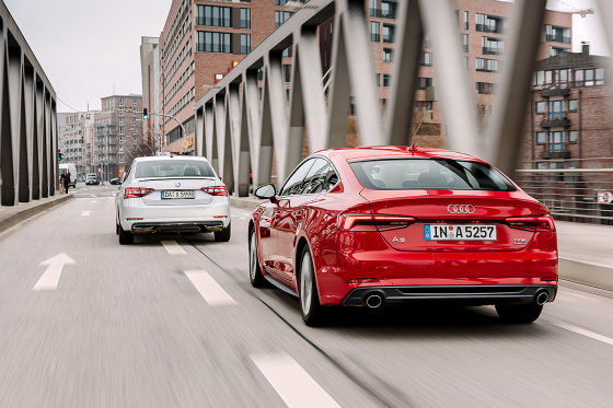 Audi A5 Sportback Skoda Superb