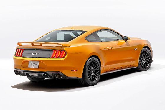 Ford Mustang Facelift 2018 Preis Test Gt Automatik Autobildde