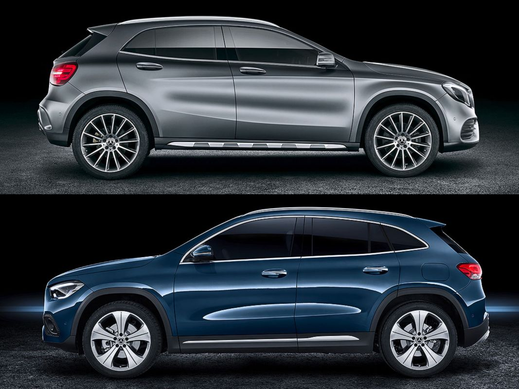 Bilder Mercedes GLA (2020)