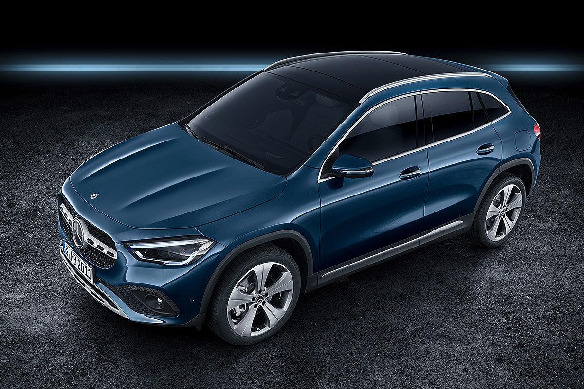 Mercedes GLA II(2019): Vorschau und Erlkönig