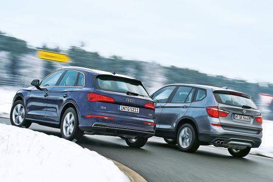 Audi Q5 BMW X3