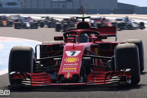 F1 2018 Test Alle News Bilder Videos Zum Formel 1 Spiel