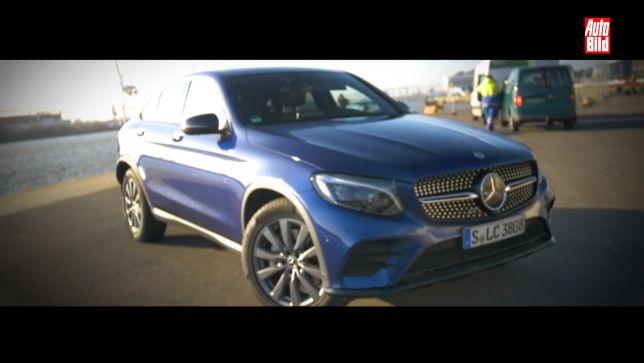 Video Kommentar Mercedes Glc Coupe 2017 Autobild De