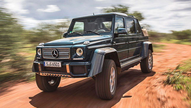 video: mercedes-maybach g650 landaulet (trailer) - autobild.de
