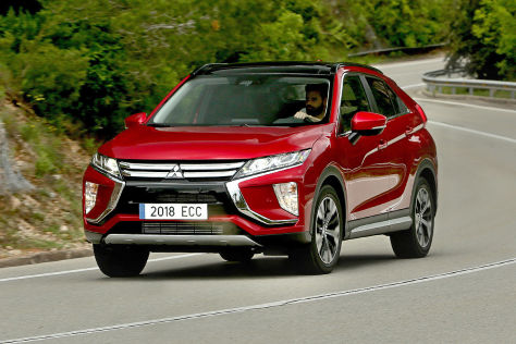 Mitsubishi Eclipse Cross 2017 Preise Test