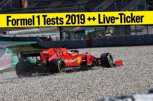 Formel 1: Wintertests live