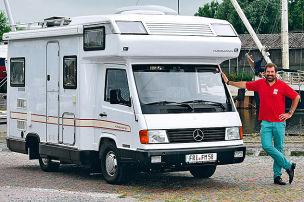 Karmann auf Mercedes MB 100: Gebrauchtwagen-Test