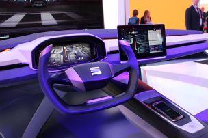 Virtuelles Cockpit für Seat