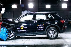Q5, Discovery, C3: Euro NCAP Crashtest 2017