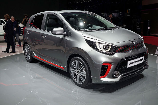Grand Prix Leasing >> Video: Kia Picanto (Genf 2017) - autobild.de