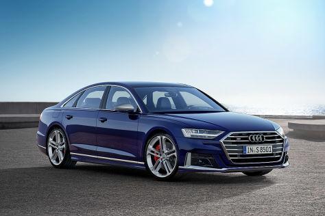 Audi S8 (2017): Erlkönig