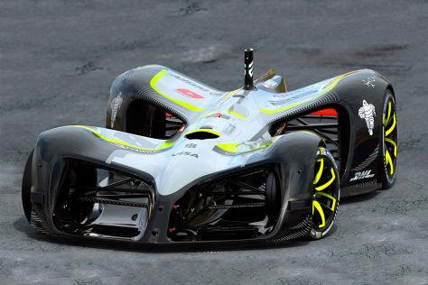 Formel E Roborace Das Erste Rennauto Ohne Fahrer Autobildde