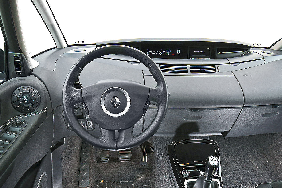 gebrauchtwagen test renault espace iv bilder. Black Bedroom Furniture Sets. Home Design Ideas