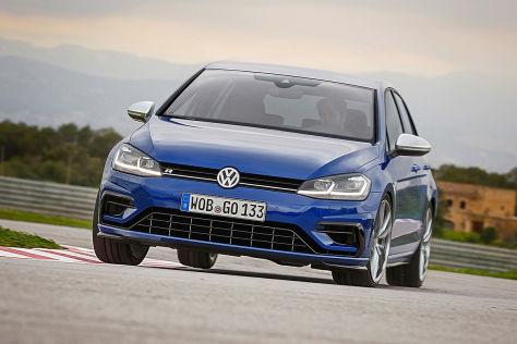 vw golf 7 r facelift (2017) im test: fahrbericht - autobild.de