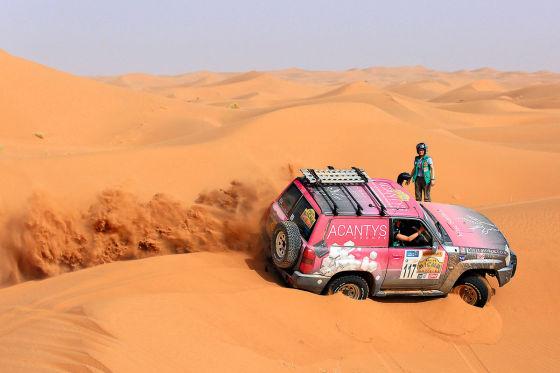 Frauen-Rallye
