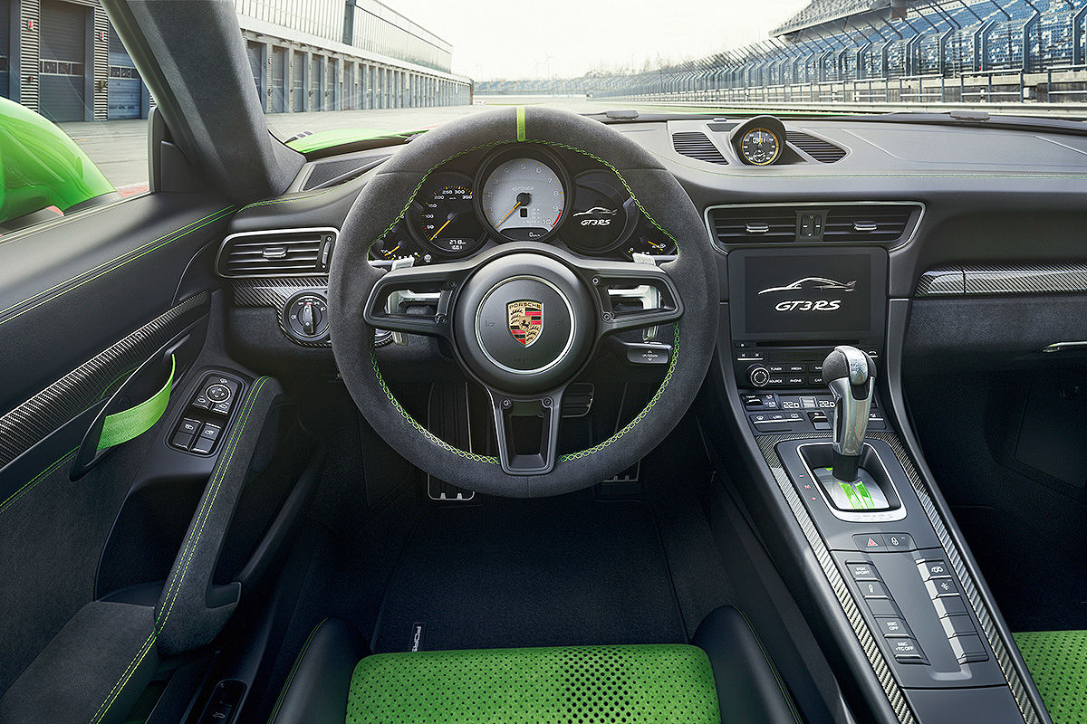 Porsche 911 GT3 RS Facelift (2018): Bilder