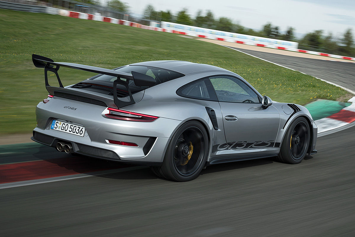 Porsche 911 GT3 RS Facelift (2018): Test