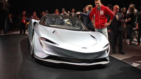 McLaren Speedtail (2019): Test