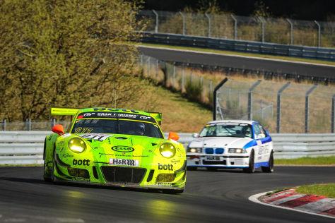 VLN Nürburgring: Pech für Audi