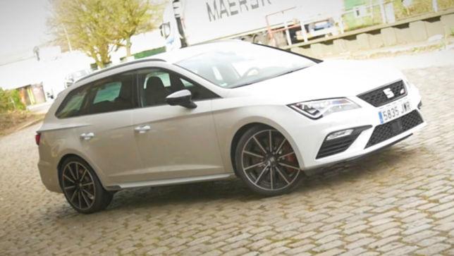 feuriger lademeister: seat leon st cupra 300 im test - autobild.de