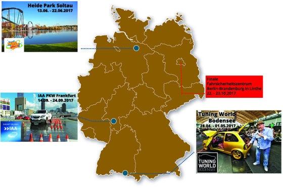 Tourneeplan DBA
