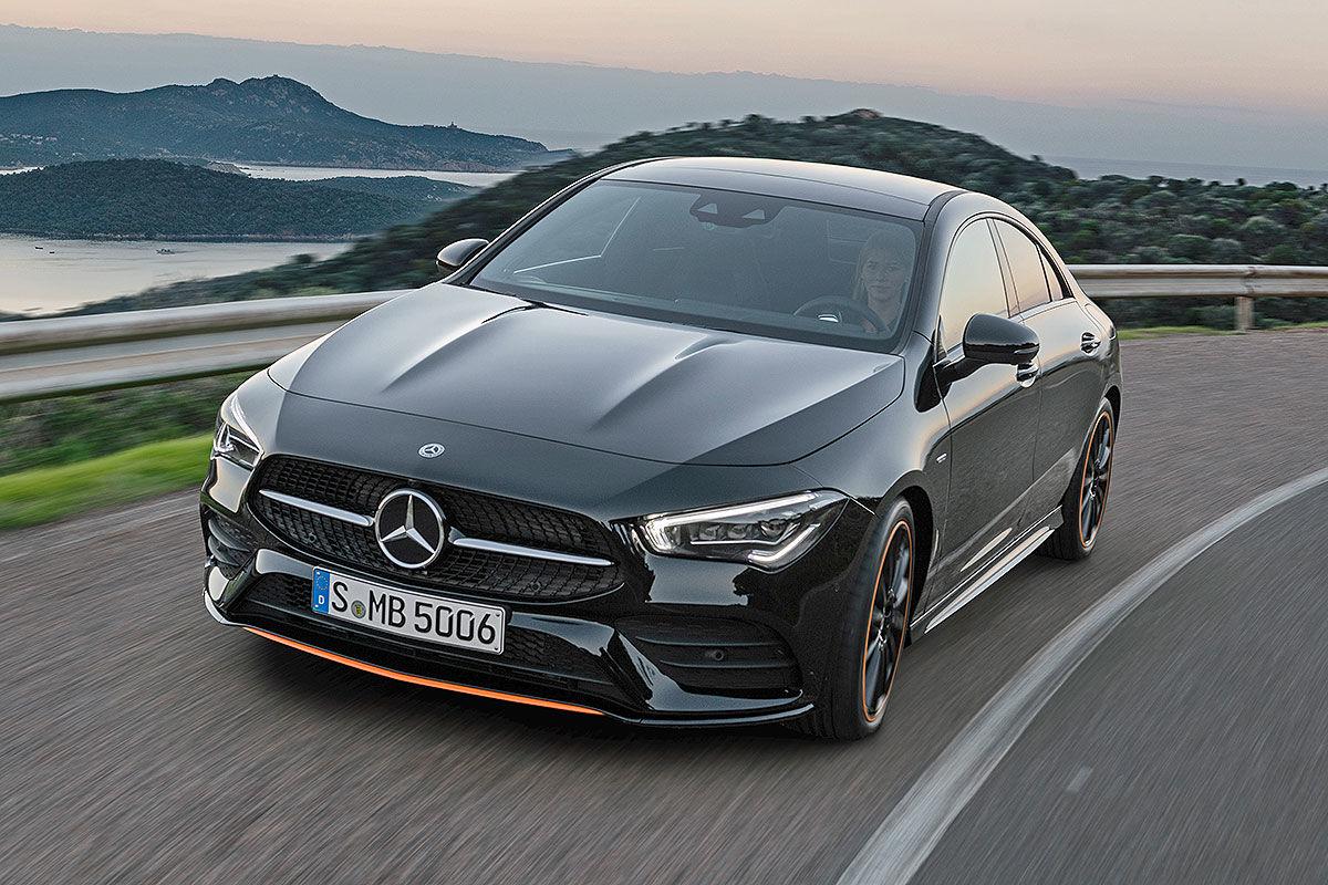 Mercedes CLA II (2019): Bilder