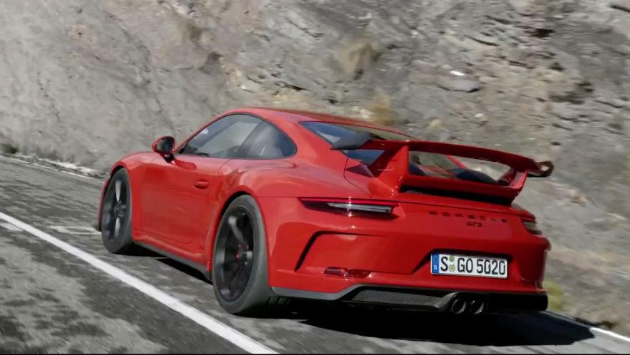 Video: Teaser Porsche 911 GT3 (2017) - AUTO BILD