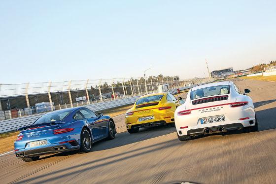 Porsche 911 Turbo Porsche 911 Carrera 4S Porsche 911 GTS