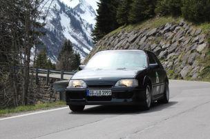 Wettstreit zum Alpengipfel