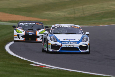 GT4: Cora Schumacher Dritter