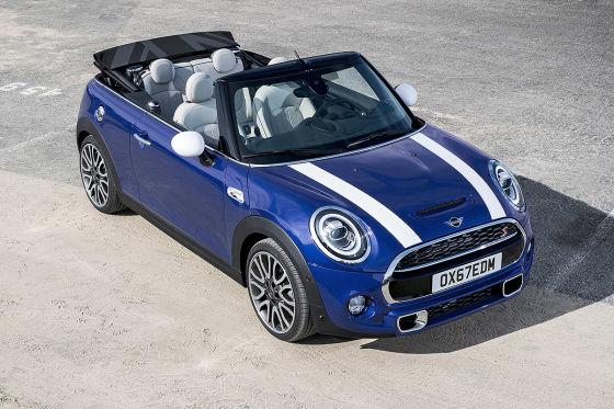 Mini-Facelift für das Mini Cabrio