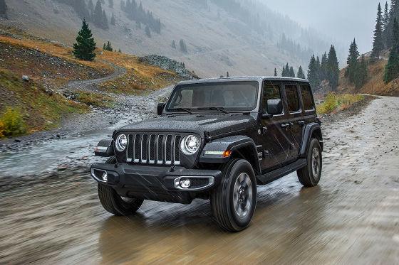 Jeep Wrangler gesichtet