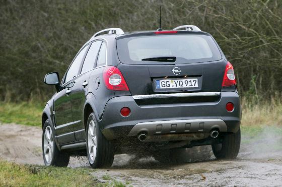 opel antara: gebrauchtwagen-test - autobild.de
