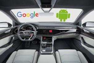 Audi und Volvo integrieren Google