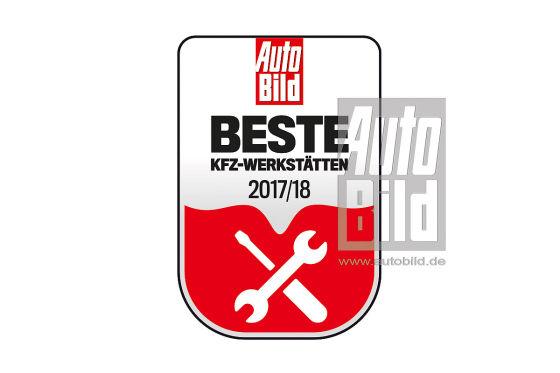 Siegel Deutschlands beste Werkstätten